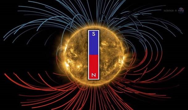 Campo magnético do Sol está próximo de inverter (com video)