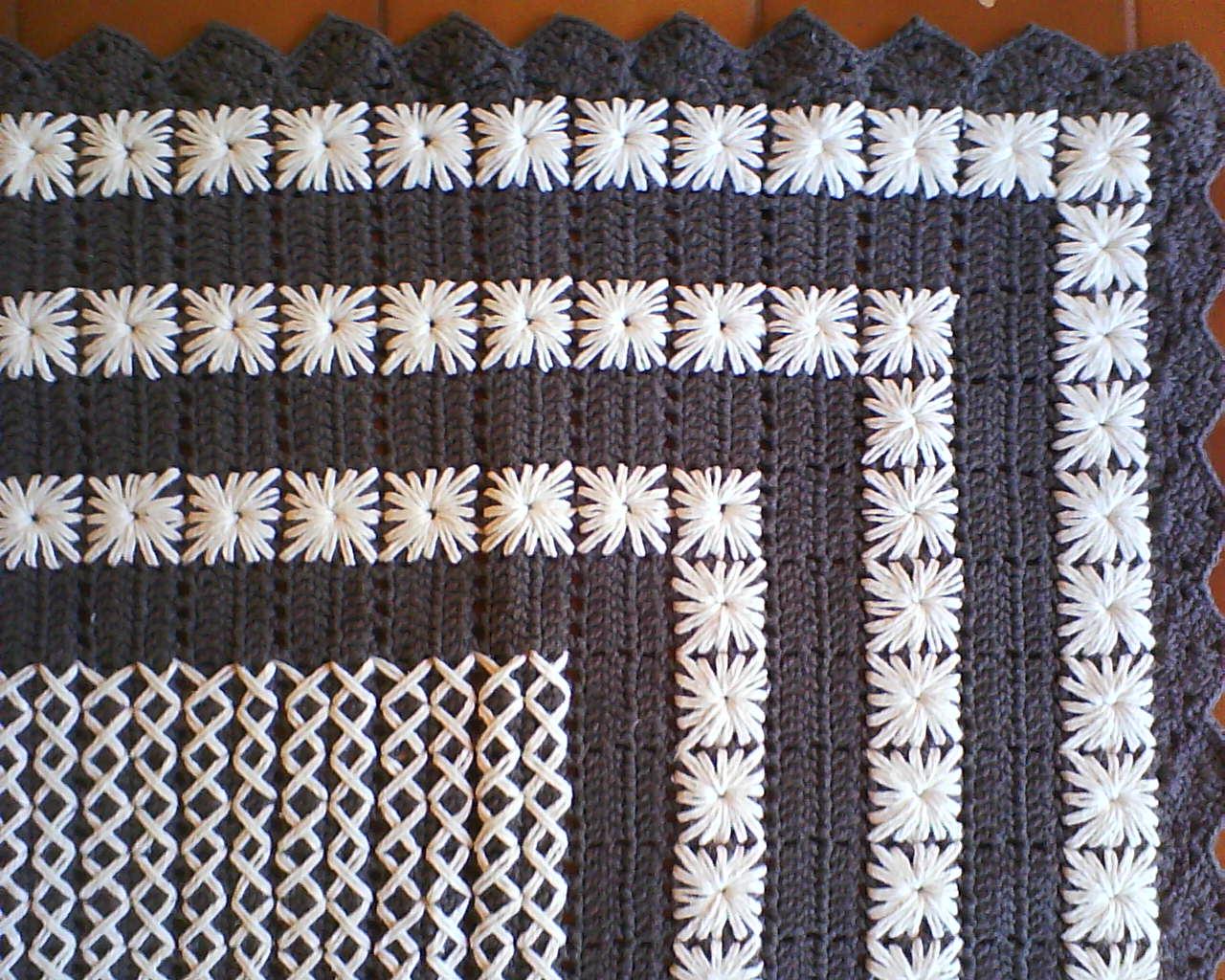 Tapete Moderno De Croche Cor -> Tapetes De Croche Para Sala