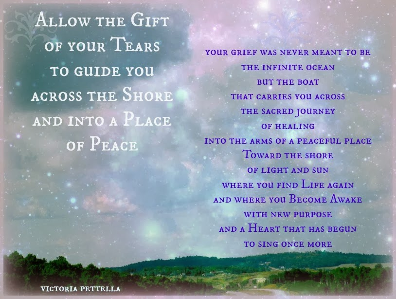 Wherever you are in your Journey of Grief honor that sacred space