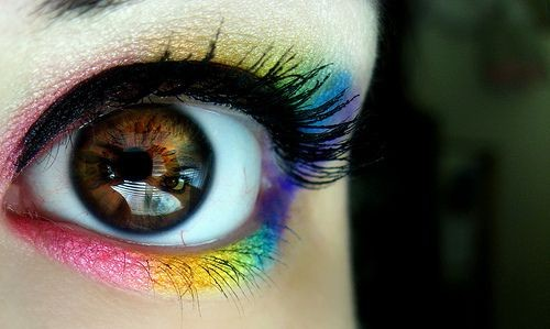 Rainbow Candy Eyes