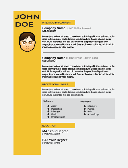 advanced google docs layout - creating a resume  cv - eduflip