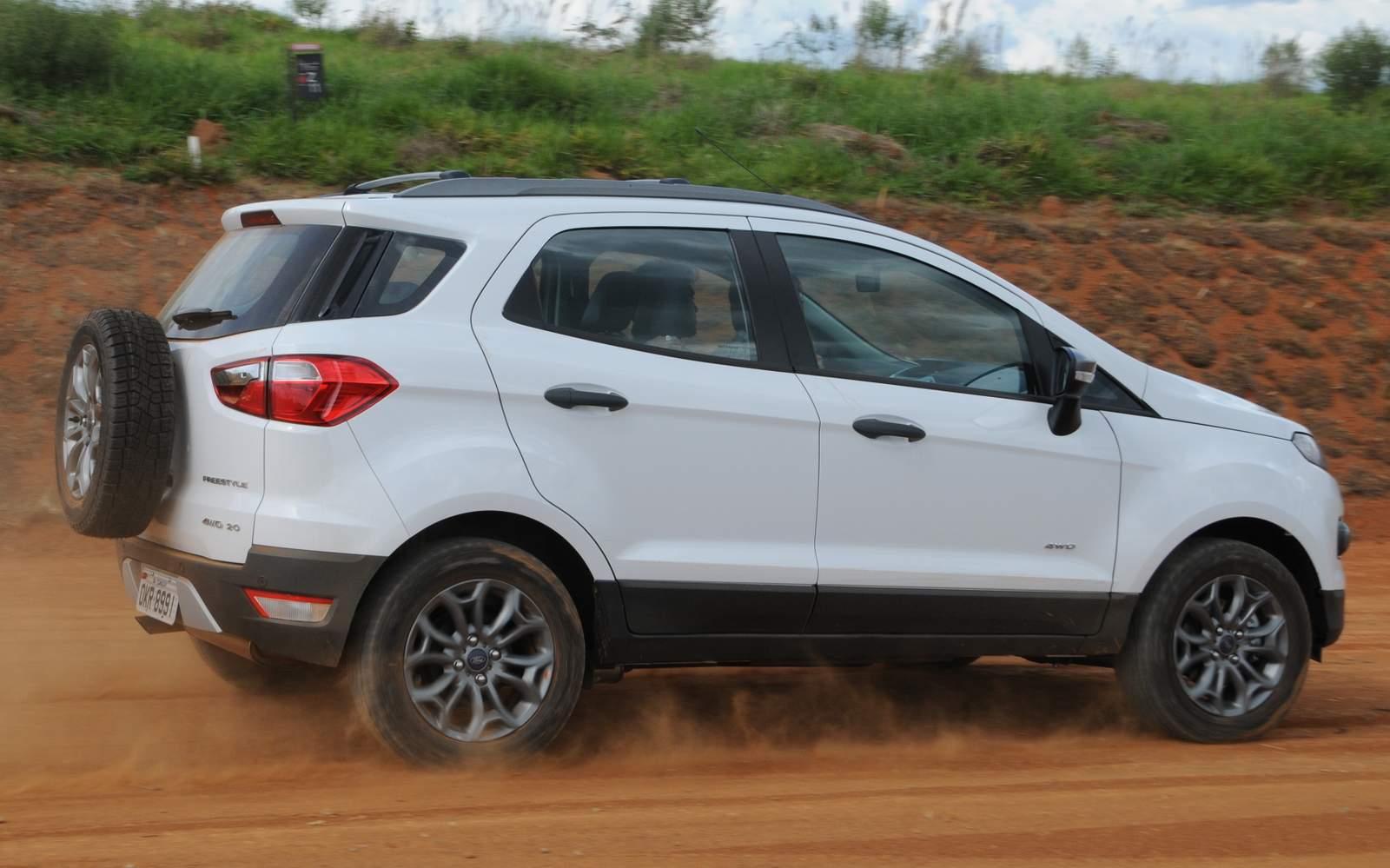 Ford EcoSport - segundo SUV mais vendido