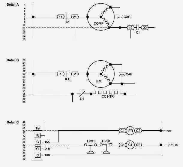 Electrical Wiring Diagrams for Air Conditioning Systems – Part One ~  Electrical Knowhow | Hvac Electrical Wiring Diagrams N8mpn |  | Electrical Knowhow