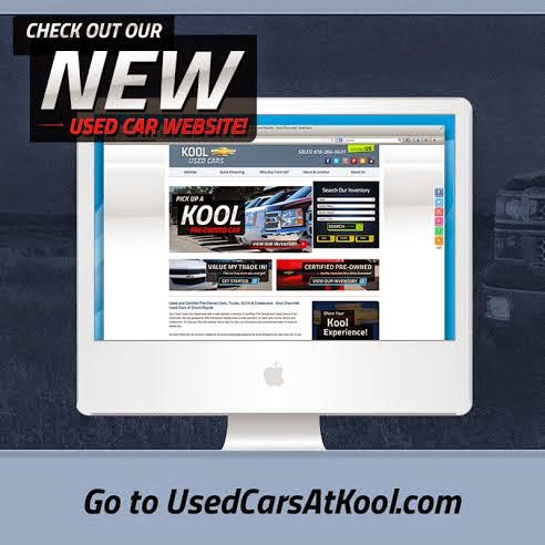 Kool Chevrolet's Used Car Website is LIVE!