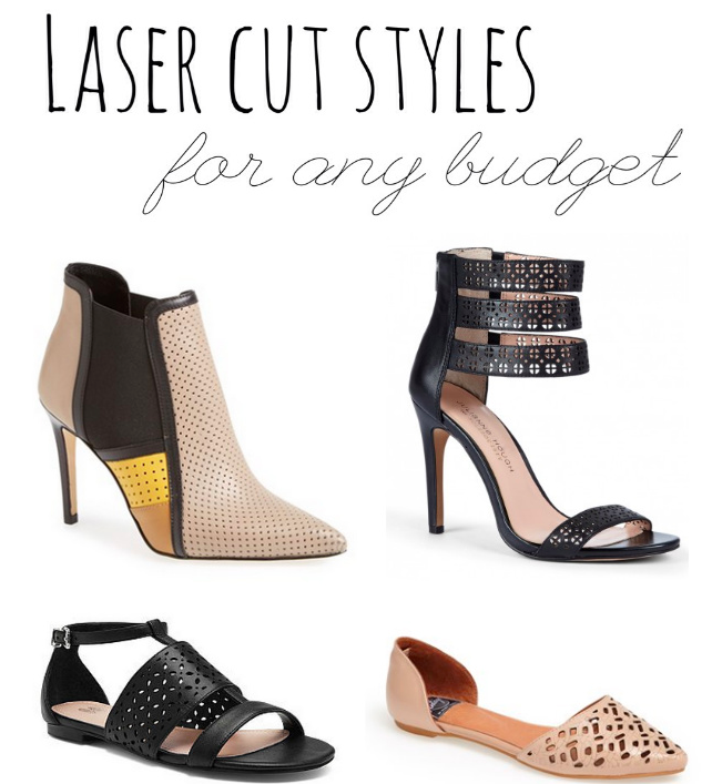 laser cute spring shoes