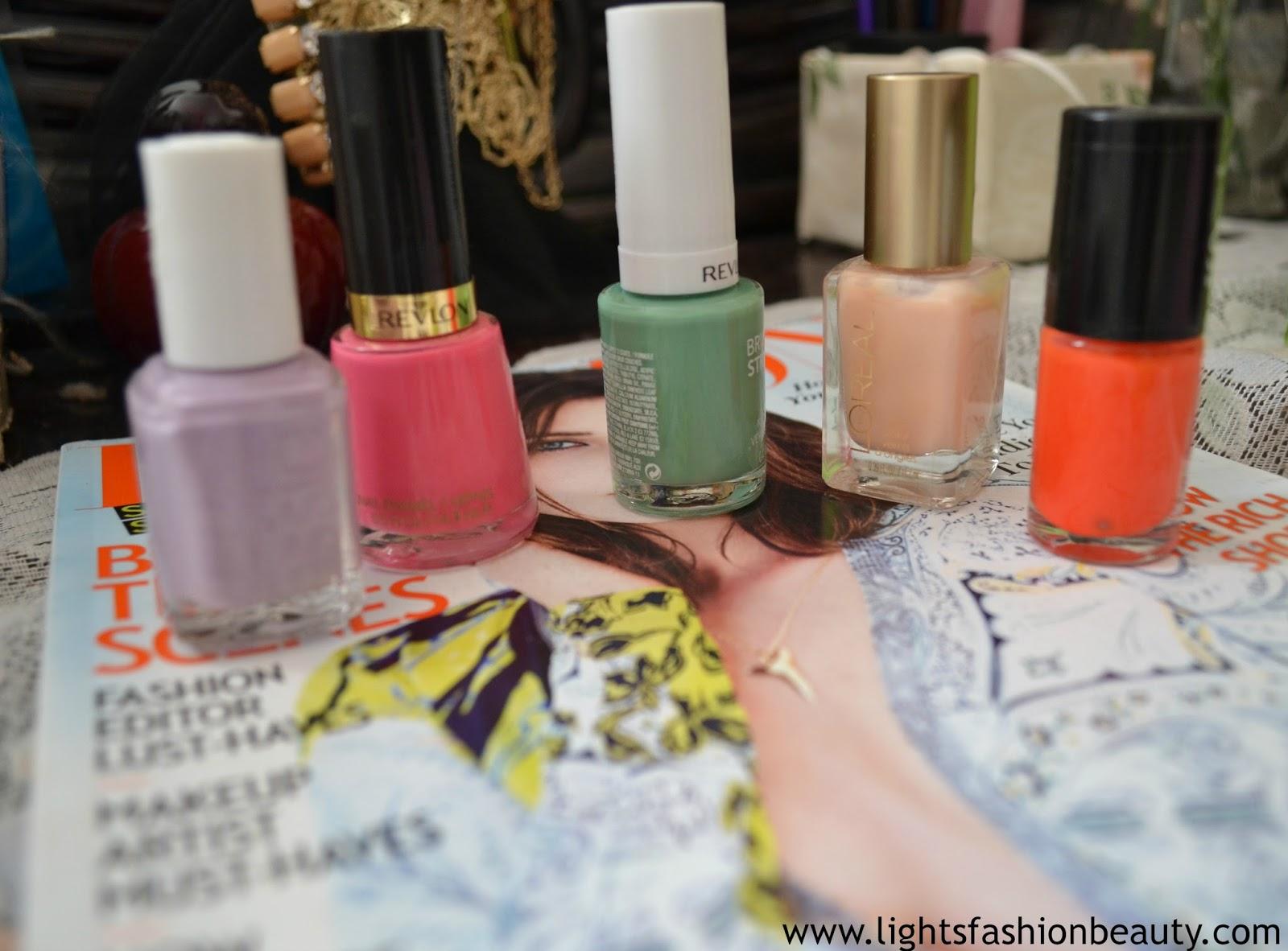 Spring Nail Polish, Maybelline, L'oreal, Essie, Maybelline, Revlon
