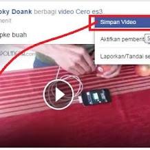 Cara Mudah Download Video Di Facebook Dan Youtube