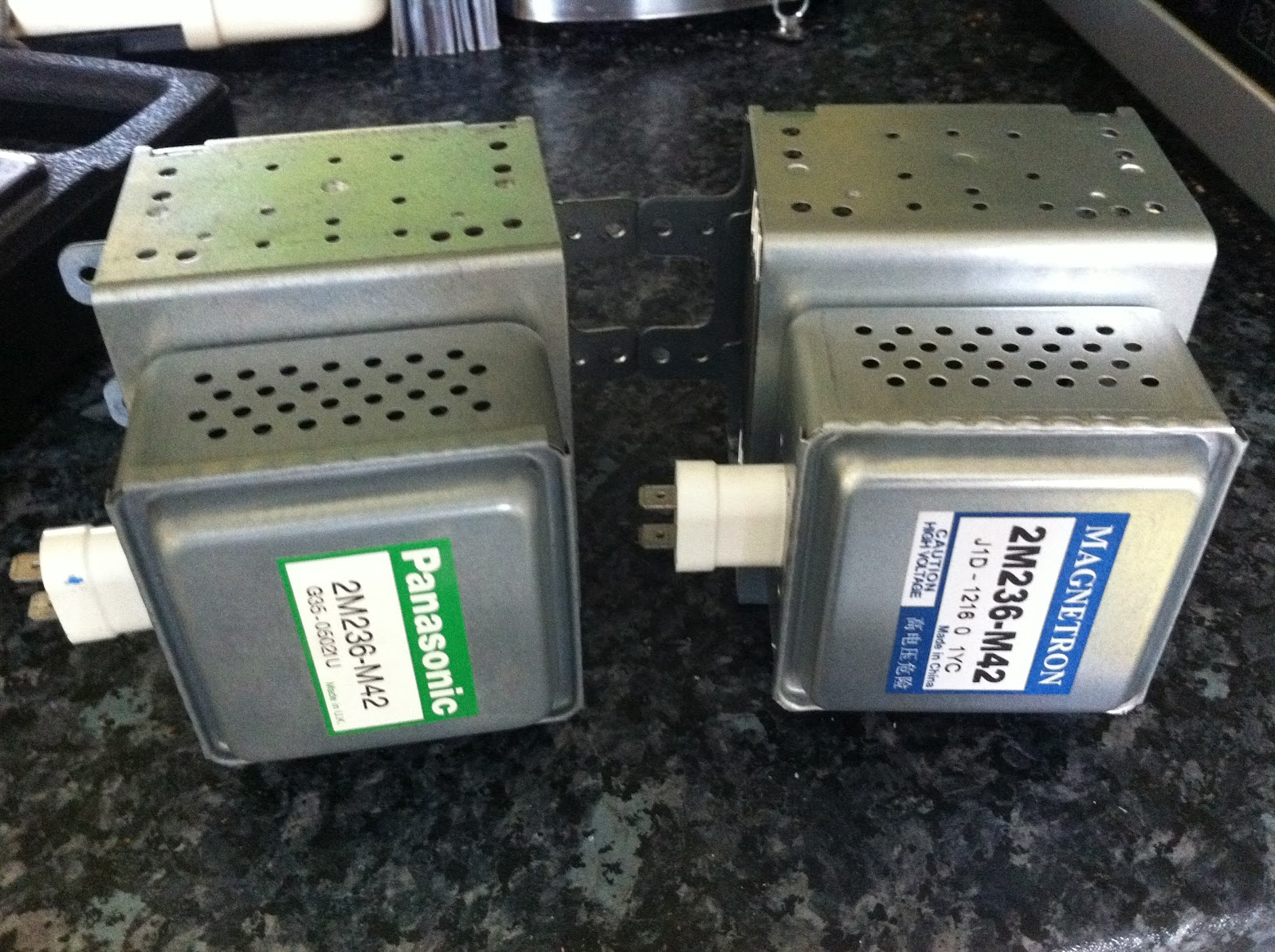 The Repair Blog Pansaonic Inverter Microwave Cuts Out Stops Resets 2m236 M42 Nn A713a