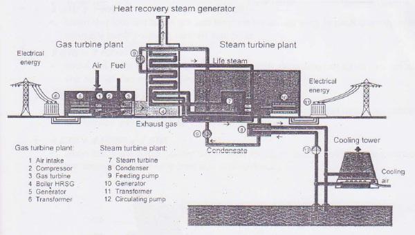 Steam Boiler: Heat Recovery Steam Generator (HRSG)
