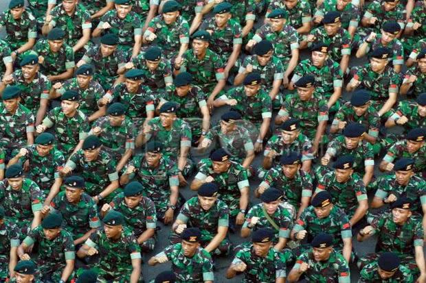 Presiden Berharap TNI Bisa Ditakuti Lawan dan Dicintai Rakyat