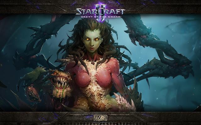 Kerrigan - StarCraft II : Heart of the Swarm