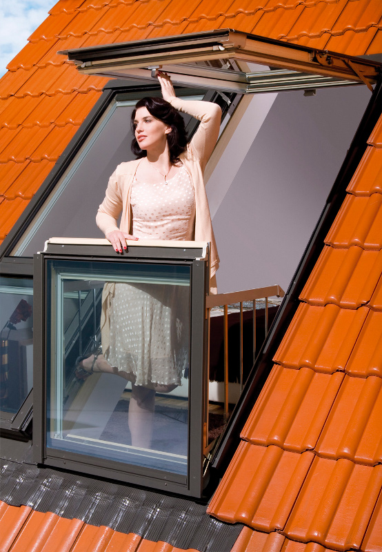Galaria Window Transforms into Balcony