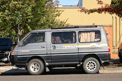 1992 Mitsubishi Delica Turbo Diesel Star Wagon.