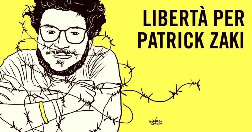 Libertà per Patrick Zaki