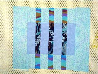 Tilkkutyöt: Hauska kalterikuvioinen tilkkublokki