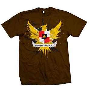 Kaos Distro Bercak Garuda | Distro Gaul