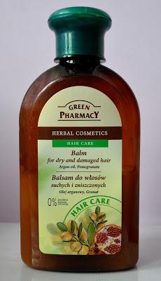 Ostatni ulubieniec moich włosów - Balsam z Olejem Arganowym i Granatem, Green Pharmacy.