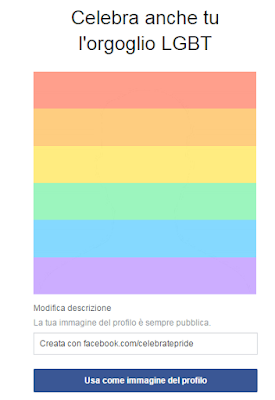 foto facebook arcobaleno