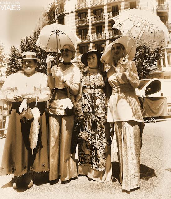 vestidos modernistas