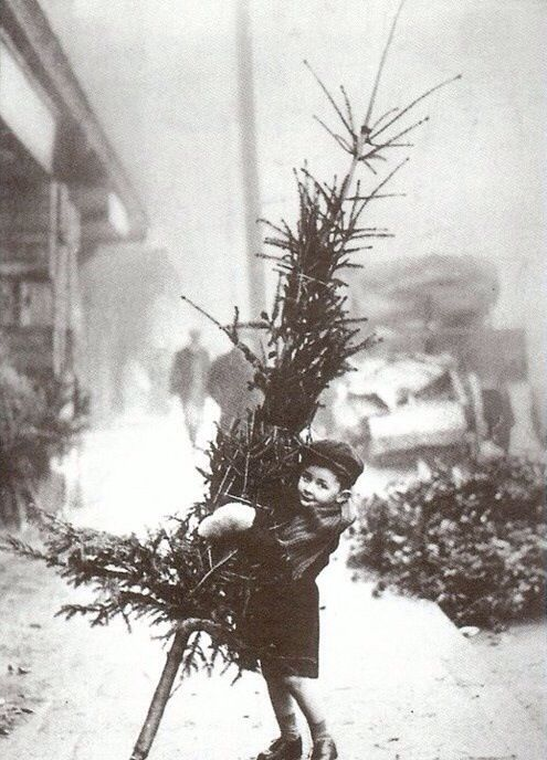 A very vintage Christmas #vintage #christmas #photo