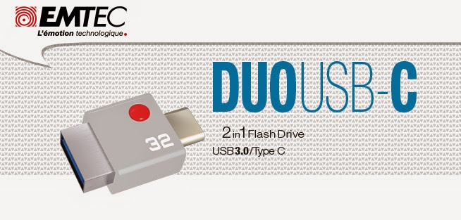 Emtec announces backwards-compatible DUO USB-C flash drive