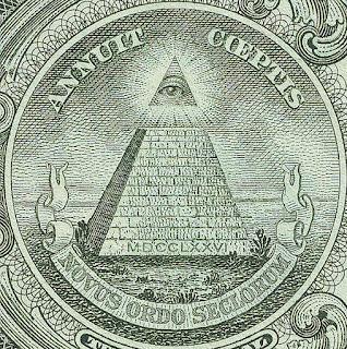 Всевидящее Око на долларах