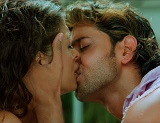 Hrithik agneepath Kiss