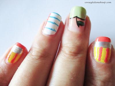 nail art back to school
