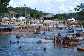 A Praia das Lajes em Cristalina poderá ser privatizada