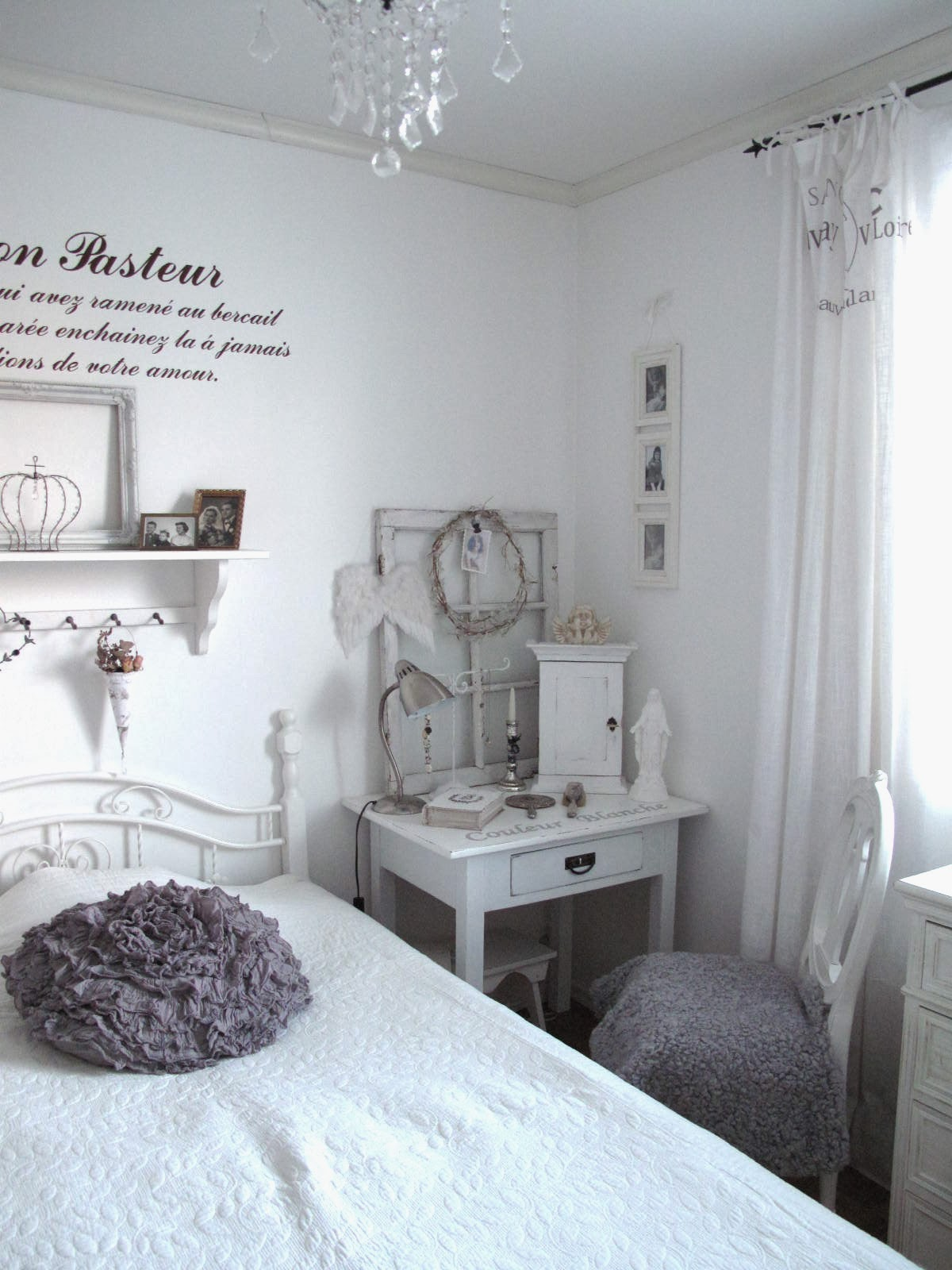 Tinis vita hem: sovrummet