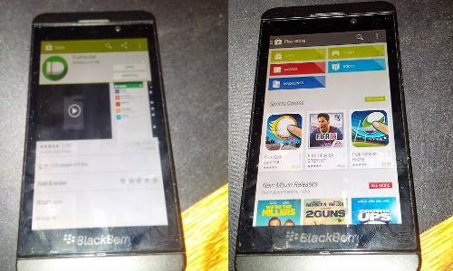 Cara Instal Google Playstore di BB10
