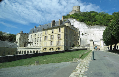 Chateau de la Roche Guyon, Route de Bray, France www.thebrighterwriter.blogspot.com