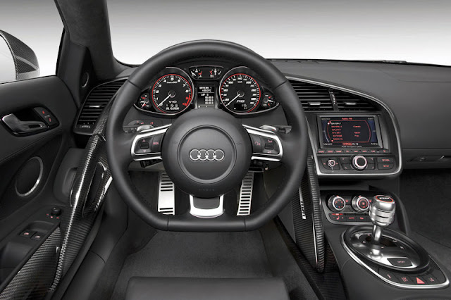 2012 Audi R8 Coupe Front Drive Interior