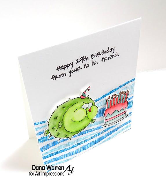 Dana Warren - Kaft Paper Stamps - Art Impressions
