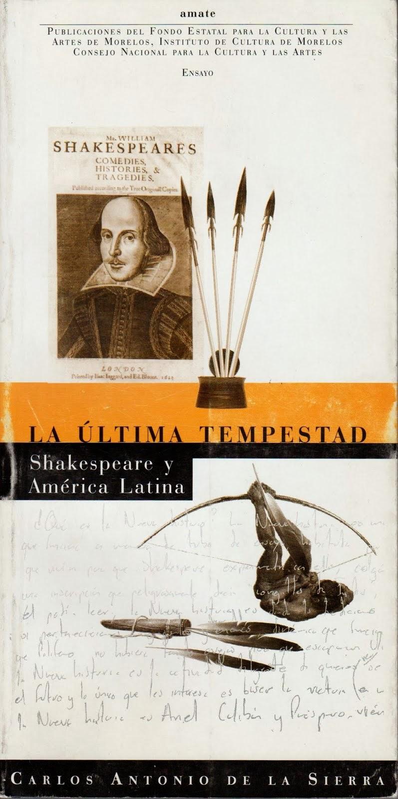 La última tempestad. Shakespeare y América Latina
