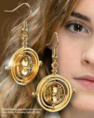 Pendientes Giratiempo Hermione Granger