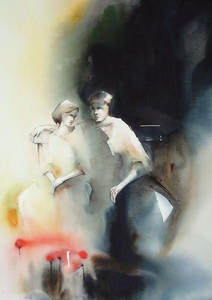 Slike koje bi volio/la imati na zidu svoje sobe Pia+Erlandsson+-+Swedish+Watercolor+painter+-+Tutt%27Art@+%284%29