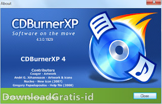 Software CD Dan DVD Burning Gratis