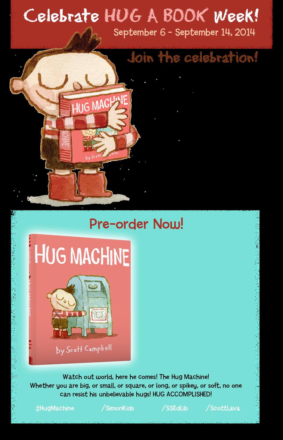 the hug machine book