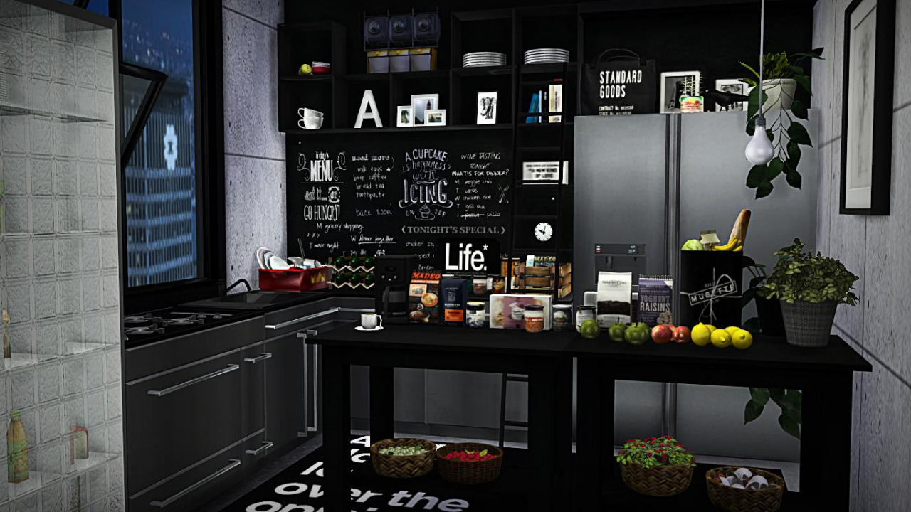 sims 4 cc's - the best: kitchen clutter by viikiitas stuff, Badezimmer ideen