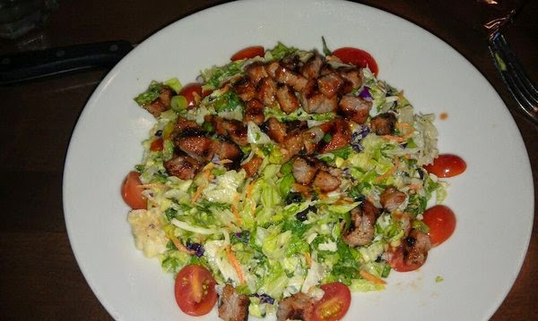 Scott was craving a salad just as much as I was and went for the Tri-Tip  Chopped Salad. He has been judging the NCHA Futurity so it was nice to  catch with ... - Melissa Good Taste: Wood Ranch - Santa Clarita, CA