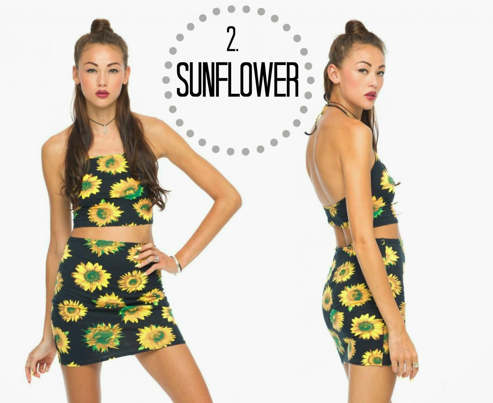 Motel Rocks Sunflower Co-ord Summer
