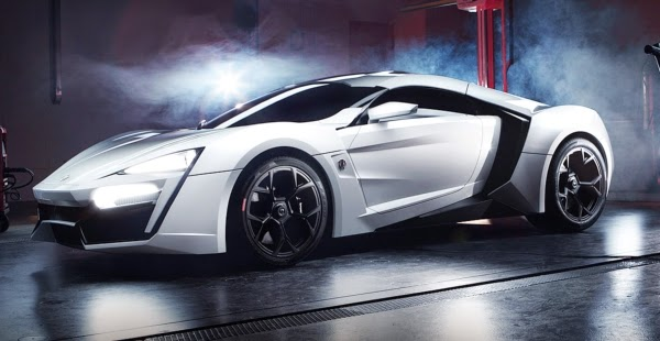 Lykan Hypersport arata superb