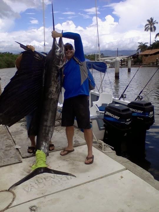 Pesca deportiva en puerto vallarta noviembre 2013 - Silla de pescar ...