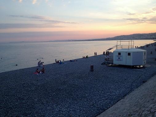 Nice Promenade des Anglais beach