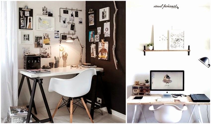 Visual fashionist arredare un piccolo studio in casa - Arredamento studio casa ...