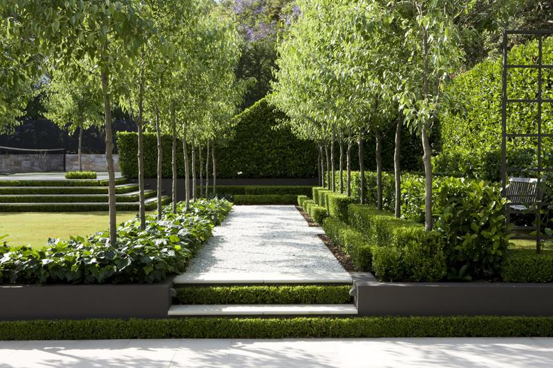 French garden sydney peter fudge for Landscape design sydney
