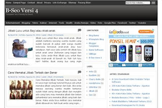 Free Download Template Blogger 3 Kolom Terbaru