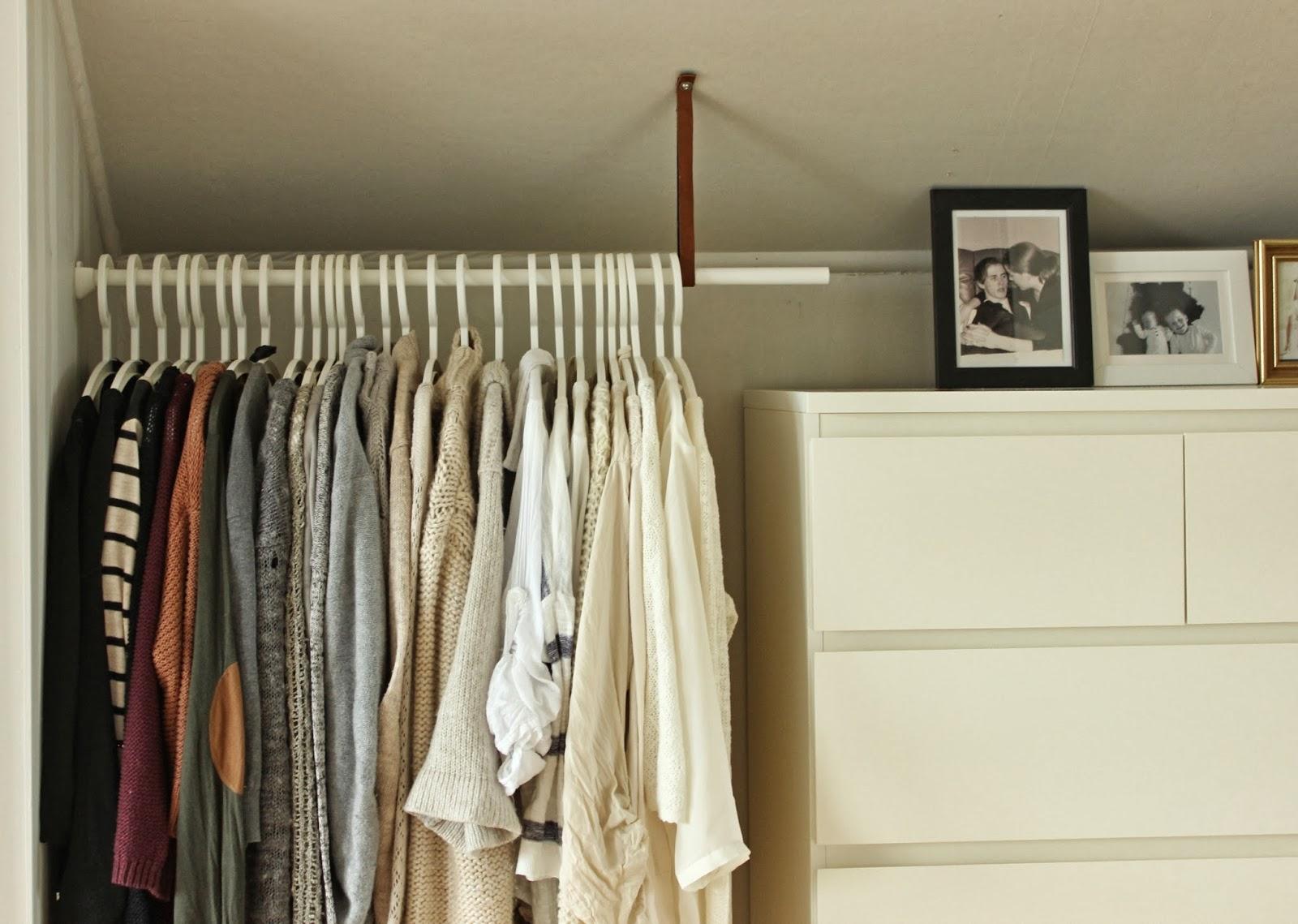 Hagenhuset garderobestang for Garderobe querstange