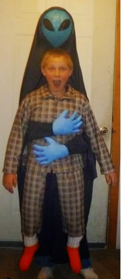 Alien Abduction Halloween Costume